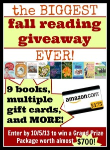 Fall Reading Giveaway